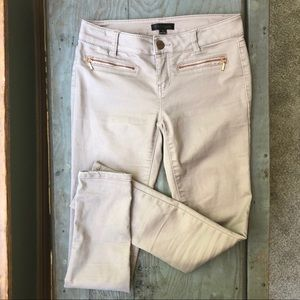 Fire Los Angeles skinny jeans in blush size 3